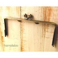 【HA-190】22cm/角型(肉球)・アンティークゴールド