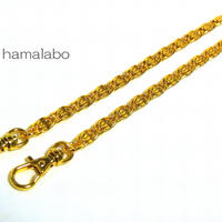 【HA-525】持ち手用デザインチェーン40cm(ゴールド)