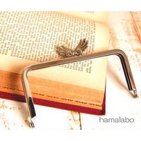 5月18日販売開始!【HA-1789】「天使の羽」の口金/12cm角型(シルバー)