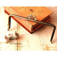 11月19日販売開始!アウトレット【HA-1757】18cm/角型(ペアウサギ×アンティークゴールド)