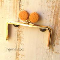 【HA-424】<ビスケット口金>12cm/角型(ゴールド)