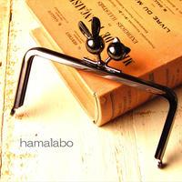 9月23日販売開始!【HA-1727】12cm/角型(ウサギ玉×ネコ玉×ブラック)