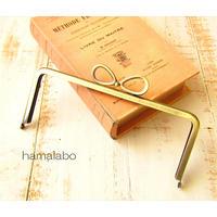 8月26日販売開始!【HA-1802】18cm/角型口金/(新リボン×アンティークゴールド)
