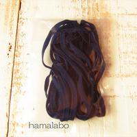 大特価!【HA-622】マスク用ゴム(ウーリースピンテープ) 5mm幅×4メートル 紺色