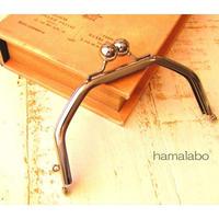 5月11日販売開始!【HA-1603】台形型の口金13cm/(アメ玉×シルバー)