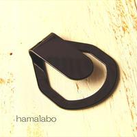 無料プレゼント!【HA-610】<身に付けるがま口>ぶら下げ用ベルトフック&帯フック(ブラック)
