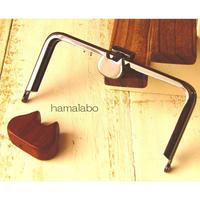8月1日販売開始!【HA-1570】オコシ式口金12cm/角型(ネコ×ブラック)