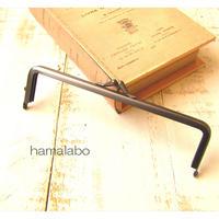 7月7日販売開始!【HA-1848】16.5cm口金/(バットつまみ×グレー)マット加工
