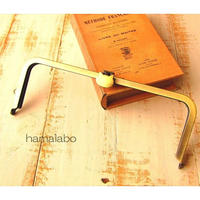 2月4日販売開始!【HA-1678】オコシ式口金24cm/角型(ネコ×アンティークゴールド)+(プラス)