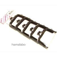6月3日販売開始!【HA-1694】5.5cm口金/(ブラック) 5本セット