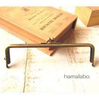 【HA-1365】16.5cm口金/(アンティークゴールド)