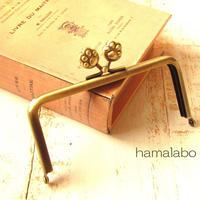 【HA-1765】12cm/角型(肉球×アンティークゴールド)
