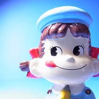 ペコちゃんフィギュア (サックス)