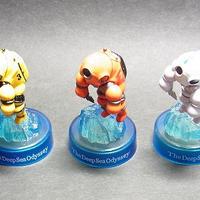 海洋堂ホビーロビー・ファミリーマート限定 深海探査服(ホワイト・オレンジ・イエロー)3色セット