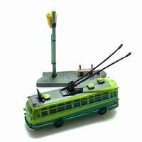 10.東京都営トロリーバス 200型(1954年)レア色違い 緑色