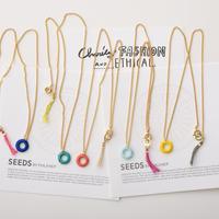 ミニリングネックレス(5色) / Mini Ring Short Necklace(5colors)