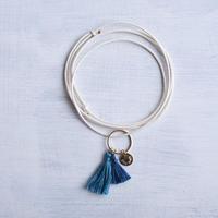 ダブルタッセルネックレス/ Double Tassel Necklace