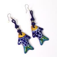 魚ピアス(Blue)BP19-50