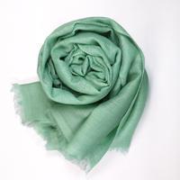 Kashmir Loom −Solid (単色)   色:Celadon(ライトグリーン)