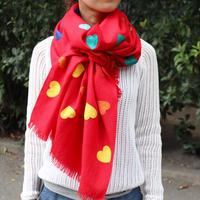 Kashmir Loom (Allover Hearts / Red)