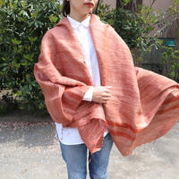 シルクストール Gitcha オレンジ 通常価格¥17,000+税  Rashmi Handloom