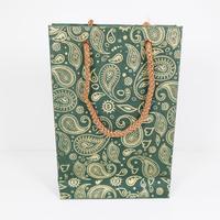 紙袋(ペイズリー・小)   PB19-004 通常価格¥550(税込)を特別価格で!