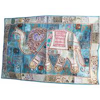 カンバディアウォールハンギング Elephant WH-20-002 (Multi-color②)