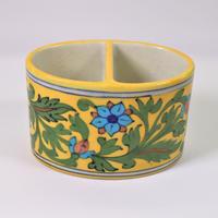 ペン立て /  トゥースブラシ立て (Yellow Flower)BP19-78