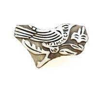 木版ブロック(鳥)   BL19-227A