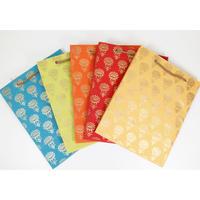 紙袋(フラワー②・中)   PB19-005 通常価格¥880(税込)を特別価格で!