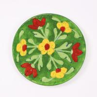 【アウトレット】コースター(Flower-Green)BP18-006