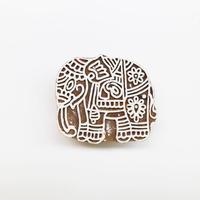 木版ブロック  エレファント(フック付き・小)通常価格¥1,980(税込)を特別価格で!   BL19-209