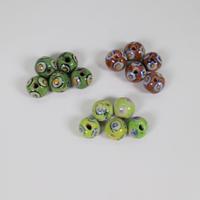 Beads/5個セット・小(幾何学①) BP19-72