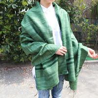 シルクストール Gitcha グリーン 通常価格¥17,000+税 Rashmi Handloom