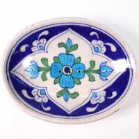 ソープディッシュ (Navy × Light Blue Flower)BP19-77