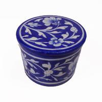 小物入れ/ラウンド(Blue Flower )BP19-66