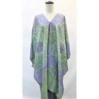 Toile Indienne Wrap  ラップ  チュニック (Royal Rose)