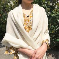 Kashmir Loom −Solid (単色) Black Ivory系