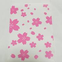 OPP袋(テープ付き)桜A 20枚入