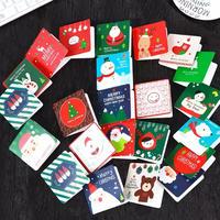 ミニクリスマスカード24枚セット