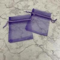 【SALE】オーガンジー巾着袋XS (約7cm ×9cm)    1セット10枚入