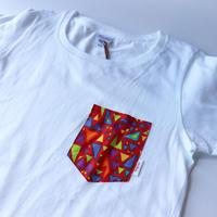Africanpocket Tshirt-kids120《KAMIFUBUKI》