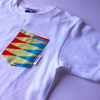 Africanpocket Tshirt-kids120《NATIVE SHOWA》