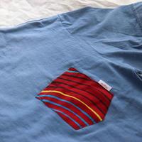 "【Unisex-Msize】後染めAfrican pocketTshirt ""arch"""