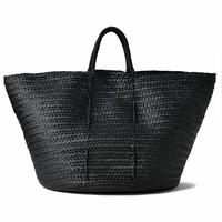 KG04 / LEATHER BASKET : XL