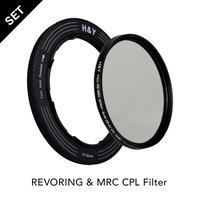 REVORING 37-49mm  &  MRC CPL フィルター52mmセット