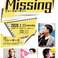 電子チケットMissing vol.141-リリースパーティー -   Eye'Dee / 香桃マサアキ / 辻 幸平 /  REINA