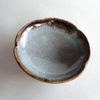藁灰釉銘々皿