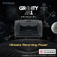 innowa GRAVITY M1 ドライブレコーダー スマート駐車監視 パワーナイトビジョン フルHD Wi-Fi GPS 160度広角 リアカメラ追加可能 64GBSDカード付 2年保証