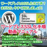 【動画】記事数の多いワードプレスのSSL化設定動画マニュアル